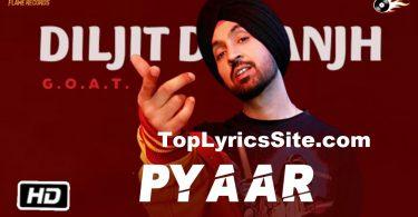 Pyaar Lyrics