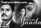Yaadan Lyrics