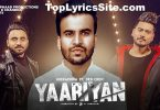 Yaariyan Lyrics