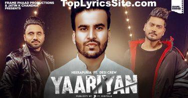Yaariyan Lyrics