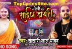 Choli Ke Size Diary Me Lyrics