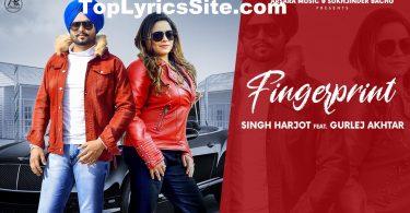 Fingerprint Lyrics