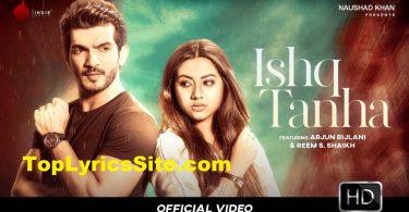 Ishq Tanha Lyrics