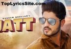 Jatt Lyrics