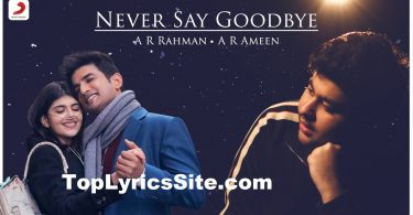 Never Say Goodbye Lyrics