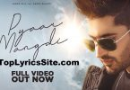 Pyaar Mangdi Lyrics