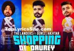 Shopping De Daurey Lyrics