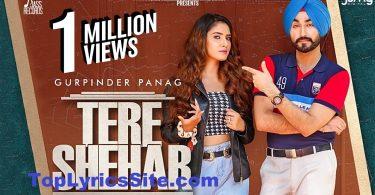 Tere Shehar Lyrics