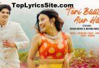 Teri Baat Aur Hai Lyrics