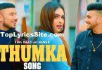 Thumka Lyrics