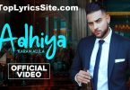 Adhiya Lyrics