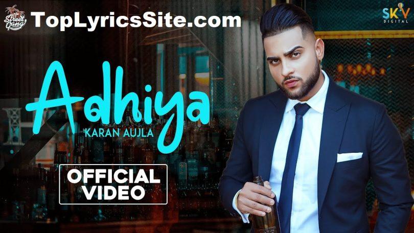 Adhiya Lyrics