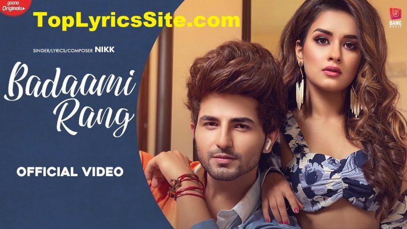 Badaami Rang Lyrics