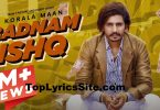Badnaam Ishq Lyrics