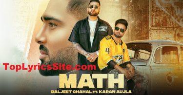 Math Lyrics