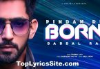 Pindan De Born Lyrics