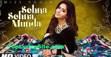 Sohna Sohna Munda Lyrics