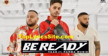 Be Ready Lyrics