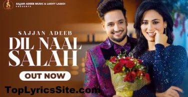 Dil Naal Salah Lyrics