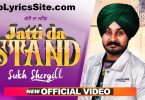 Jatti Da Stand Lyrics