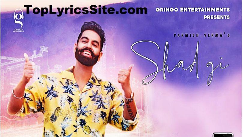 Shadgi Lyrics