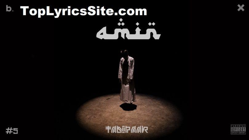Amin Lyrics