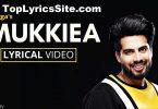 Mukkiea Lyrics