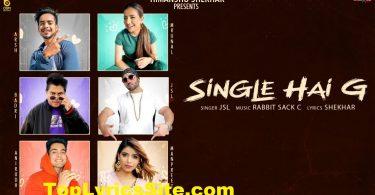 Single Hai G Lyrics