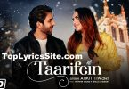 Taarifein Lyrics