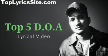 Top 5 D.O.A Lyrics