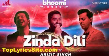 Zinda Dili Lyrics