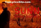 Sunn Lyrics