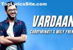 Vardaan Lyrics