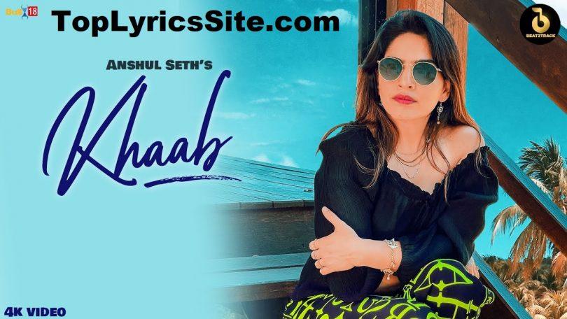 Khaab Lyrics
