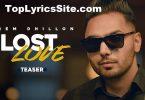 Lost Love Lyrics