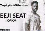 Teeji Seat Lyrics