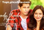Thoda Thoda Pyaar Lyrics
