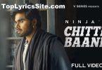 Chitte Baane Lyrics