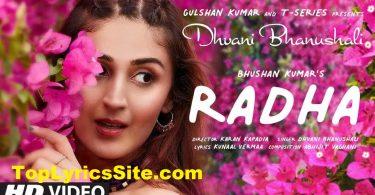 Radha Lyrics