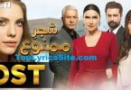 Shajar e Mamnu OST Lyrics