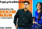 Teekhe Nain Lyrics