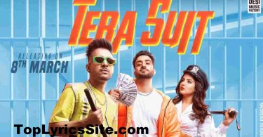 Tera Suit Lyrics