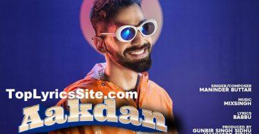 Aakdan Lyrics