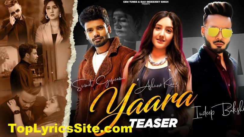 Yaara Lyrics