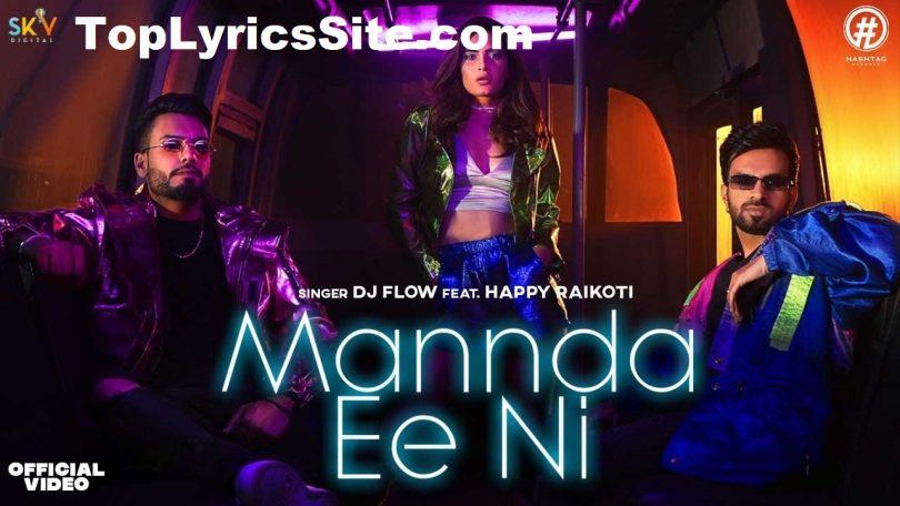 Mannda Ee Ni Lyrics