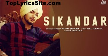 Sikandar Lyrics