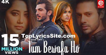 Tum Bewafa Ho Lyrics