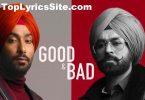 Good N Bad Lyrics