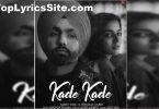 Kade Kade Lyrics