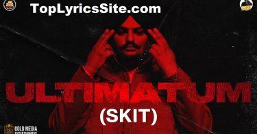 Ultimatum (Intro) Lyrics